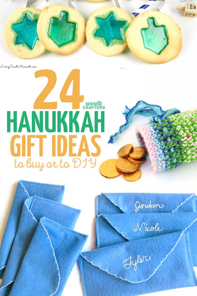 Looking for the perfect Chanukah gift? These Hanukkah gift ideas include some to DIY and some to buy - there's a gift for the holidays for everyone!