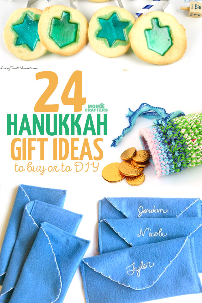 Hanukkah gift ideas to diy or to buy moms and crafters for Gift with purchase ideas