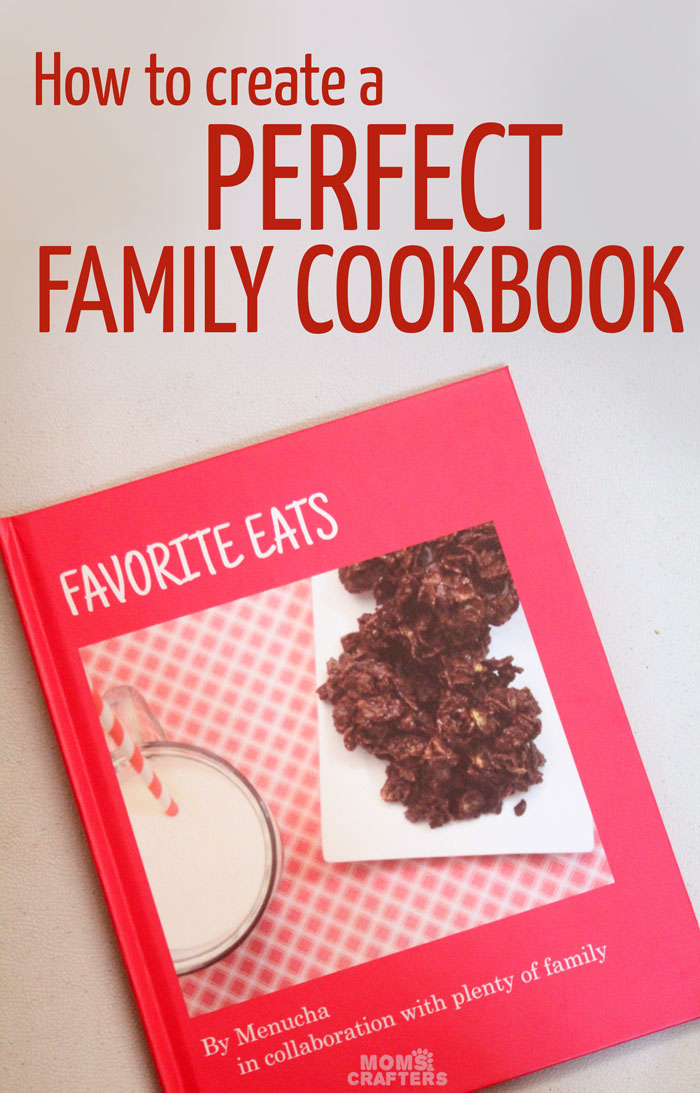 how to make a family cookbook moms and crafters