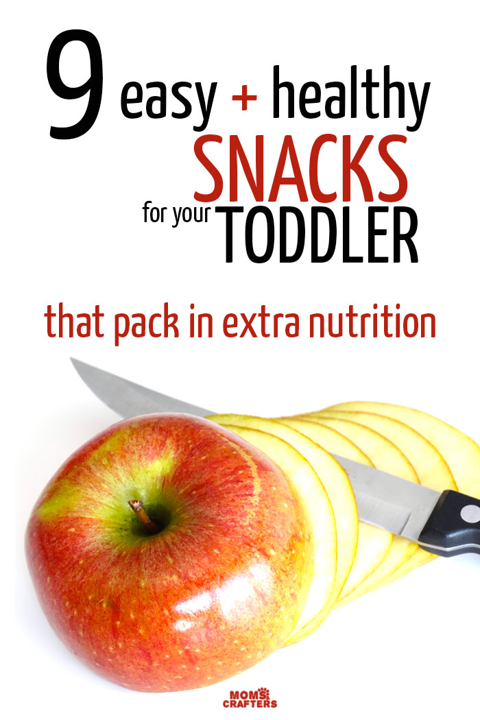 Use snack time to pack in extra nutrition in your toddler's diet! These healthy snacks for toddlers are easy to self-feed , require little prep, and add as many nutrients as possible.