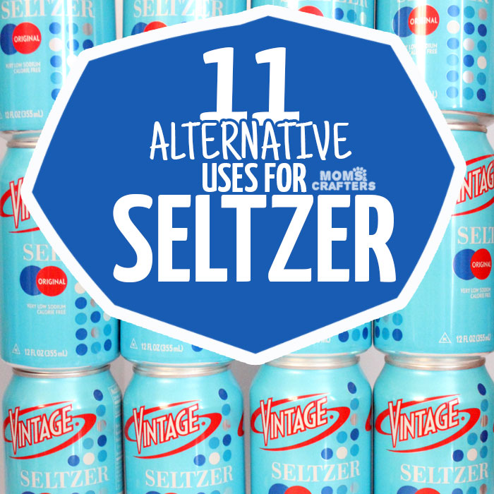 Who knew that carbonated water could be so versatile?! Click to check out these 11 GENIUS alternative uses for seltzer - it can solve some common household problems!