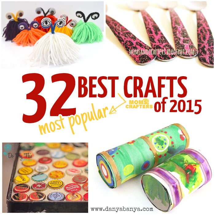 The absolute best crafts of 2015 - over twenty bloggers share their most popular crafts! Includes amazingly easy DIY tutorials, kids' craft ideas, jewelry making, home decor, diy toys and baby things, and more! You'll love these!