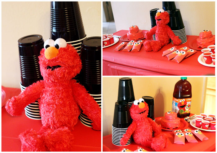 I LOVE These Elmo Birthday Party Ideas