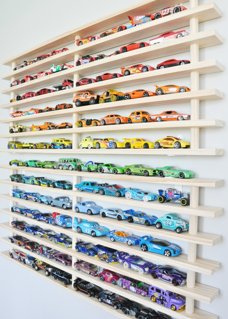 Hot Wheels Display Ideas To Diy Moms And Crafters