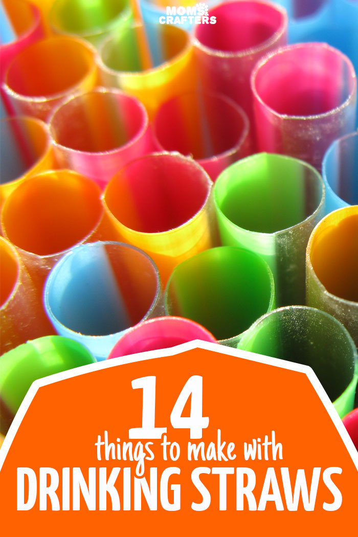 14 Of The Best Drinking Straw Crafts Moms And Crafters