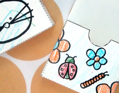 Free Printable Color in Gift Boxes for kids