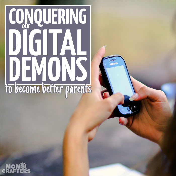 """Do you feel like you've crossed that invisible line of """"too much"""" when it comes to your devices? Read how this mother came to that realization and implemented easy, painless steps to forge phone-free times."""