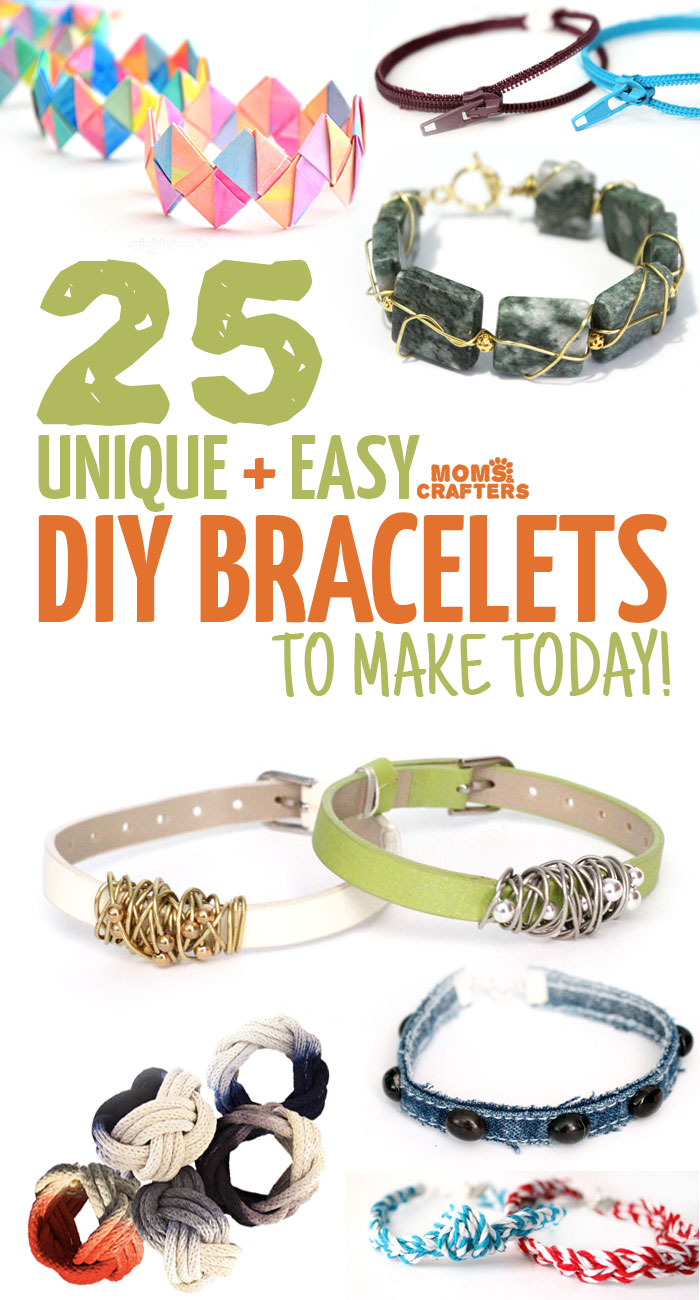 DIY Bracelets that are easy but beautiful! - Moms and Crafters