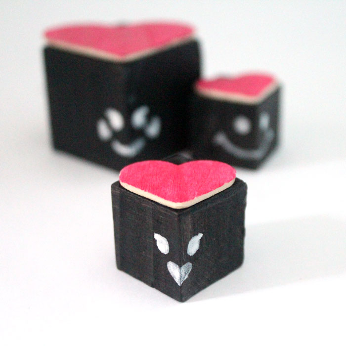 Make this adorable love bug valentine's day craft for kids! These lovebug blocks are so friendly and fun to play with - and they're easy to make too!