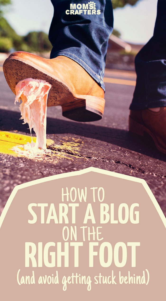 Want to start a blog? New blogger? Read these blogging tips to get you started on the right foot - don't make the mistakes I made!