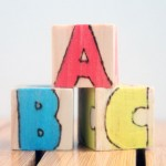 Wooden Alphabet Blocks: A DIY Baby Gift Tutorial