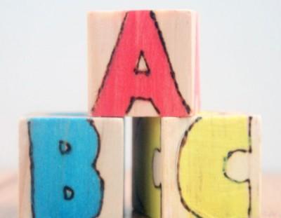 Wooden Alphabet Blocks: A DIY Baby Gift Tutorial