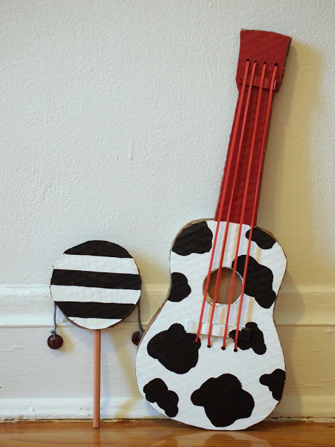 diy musical instruments moms and crafters