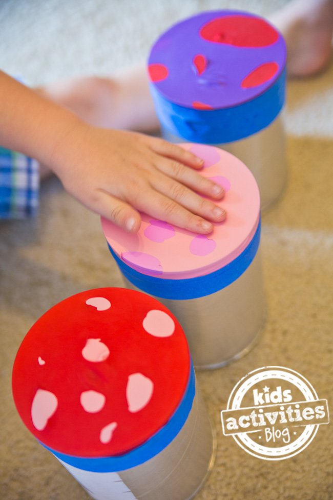 Or try these Coffee Can Drums by Kids Activities Blog for some hand ...