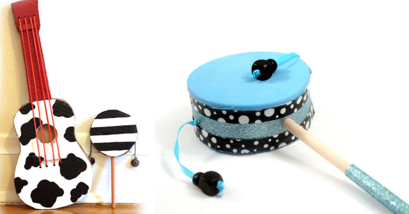 Diy Musical Instruments Moms Crafters