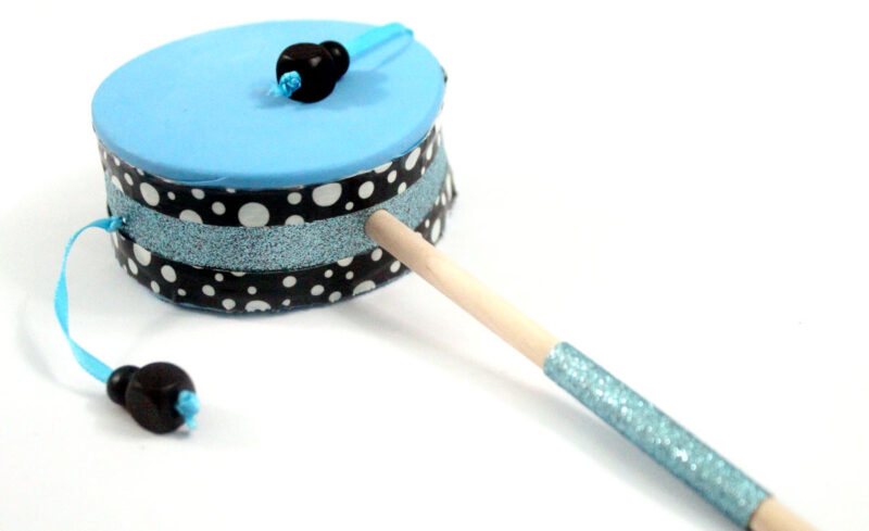 How To Make A Hand Drum Moms And Crafters