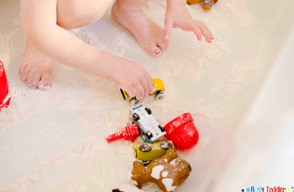 Toddlers love making a mess! These 12 messy activities for toddlers are sure to be a hit and make parenting them easier!