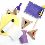 DIY Felt Purim Play Set