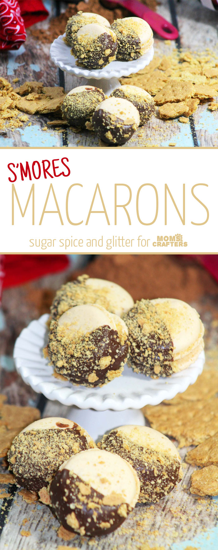 Make these delicious S'mores macarons - a showstopping dessert recipe perfect for parties and special occasions! It's mouth-watering and great food for entertaining.
