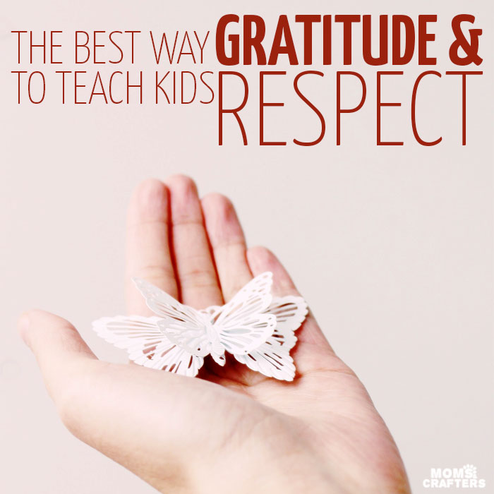 Teaching kids gratitude requires one simple trick. Read how to implement positive parenting with practical solutions to raise more respectful and wholesome children!