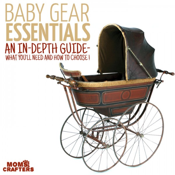 Which baby gear must haves should you register for? If you're looking for some pregnancy tips or baby registry advice, read this list outlining everything you need to know about baby gear - which features to look for, what you need, and what you should have!