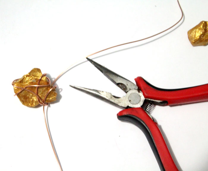 This Diy Gold Nugget Jewelry Is So Easy To Make And One Of The Cheapest