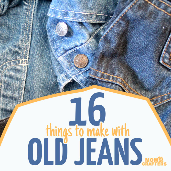 The Best Recycled Denim Crafts Moms And Crafters