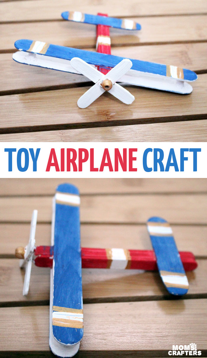 travel craft ideas airplane craft make a wooden airplane 3136