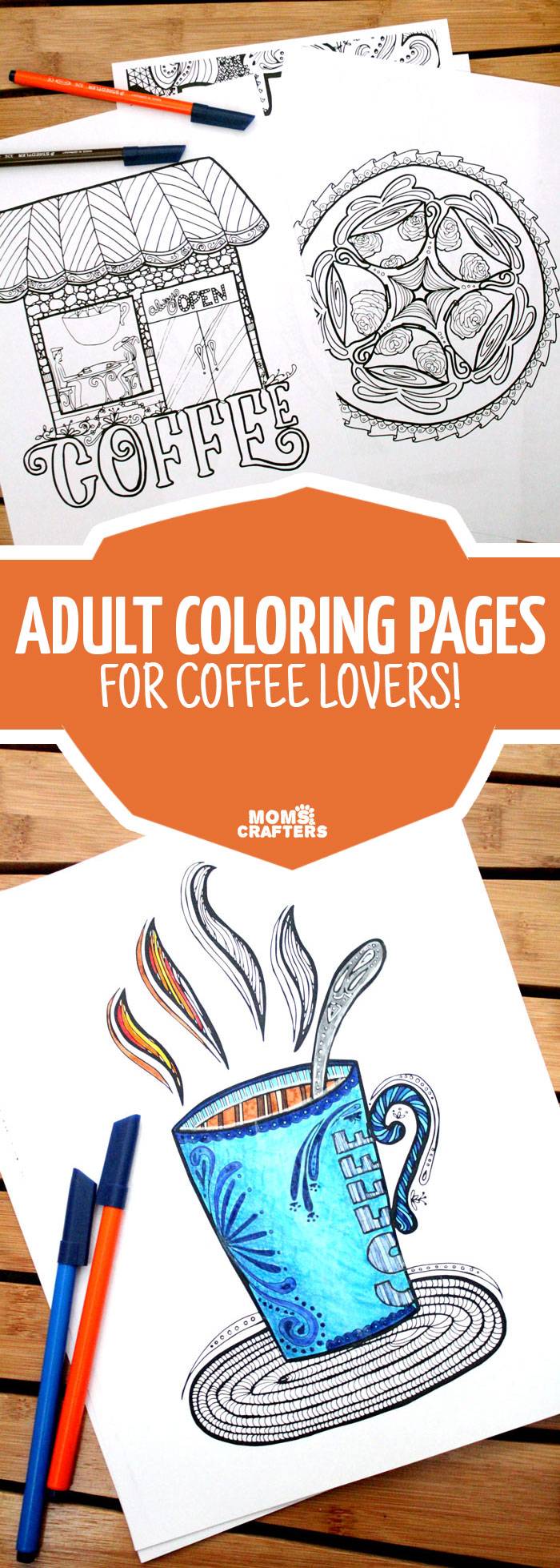 Mandala coloring pages (jumbo coloring book) - If You Love Coffee And You Love Adult Colouring You Ll Want To Grab