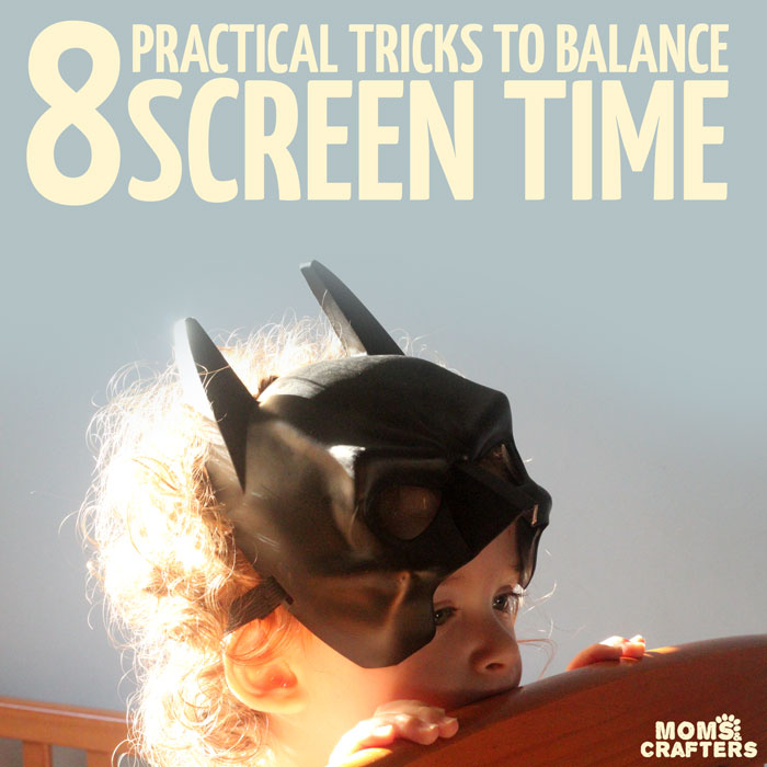 8 Practical tips and tricks for balancing your child's screen time - including a free app that allows you to have control! Such a great parenting tip for parents who believe in making the best of technology in kids.
