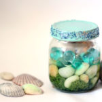 Beach-in-a-jar Seashell Keepsake Craft