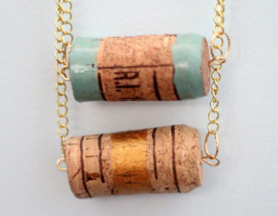 Cork Necklace Craft