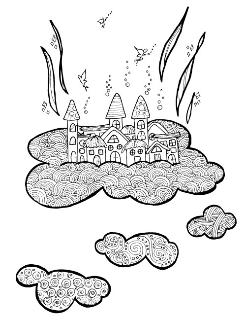 GRAB these beautiful adult coloring pages in a fairy theme! You'll absolutely love this unique take on fairies and find coloring them quite relaxing and mindless - because you deserve a break!