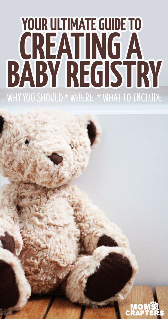 If you're pregnant and making a baby registry you need to see this guide! It not only has a full outline of what to put in your baby registry, but it also has advice for why you should register, tips for getting the most out of it, and advice on where to register. Great pregnancy for new moms-to-be.