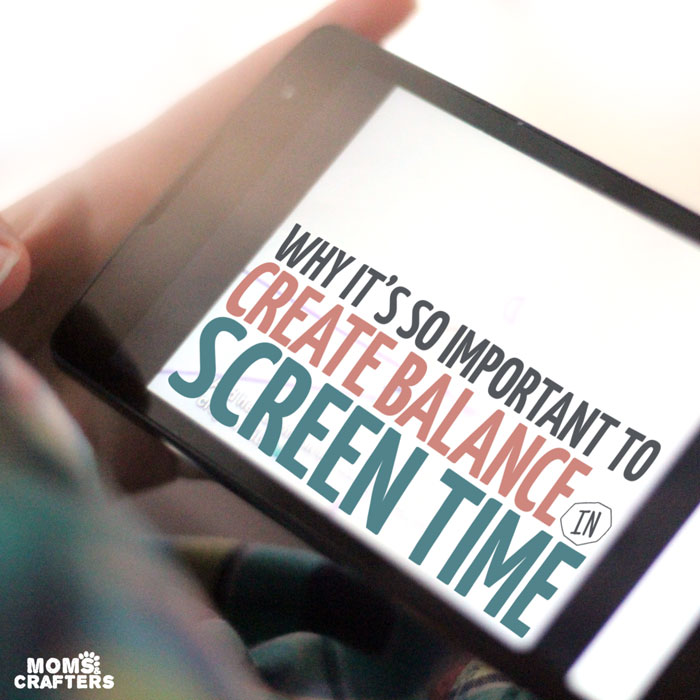 Do you allow your child to have screen time? Here are some parenting tips on why it's important to find balance in this area - and not go
