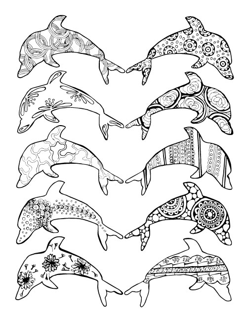 These beach themed ocean coloring pages for adults are so cool - many different levels of difficulty, and unique complex pages. YOu'll love these sea coloring pages, especially the flip flops.