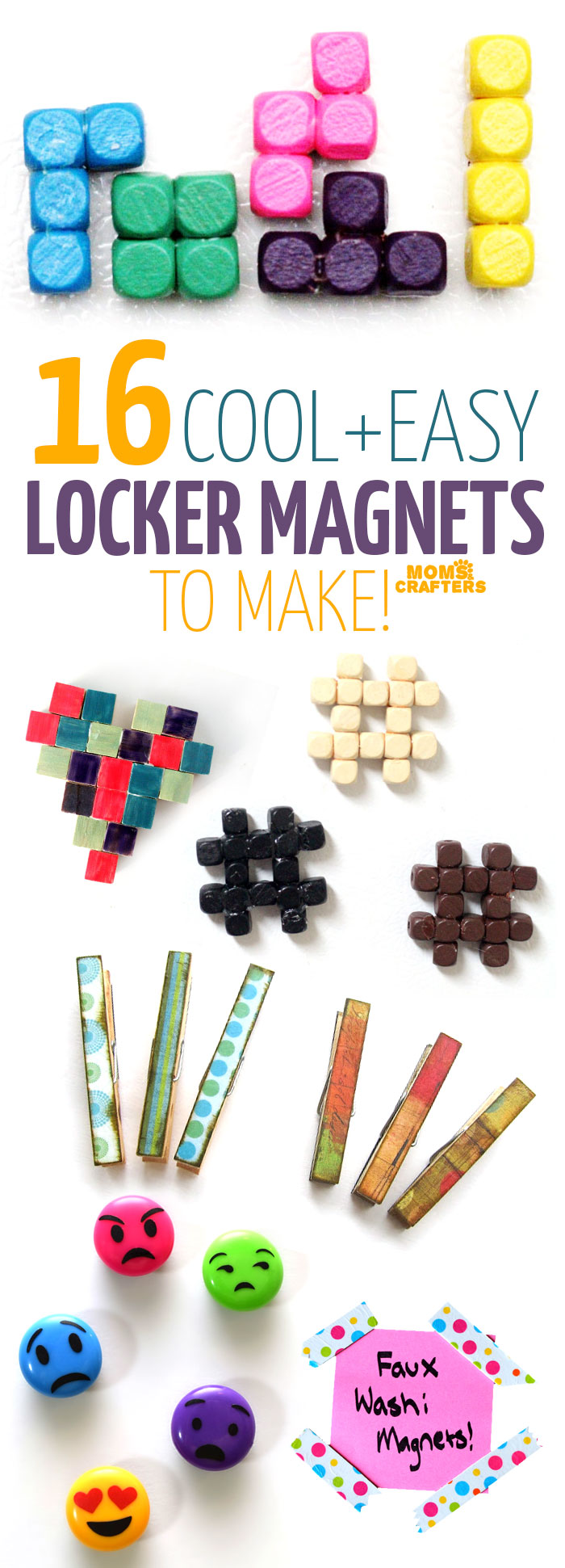 Buy magnets for crafts - Check Out These 16 Cool Magnet Crafts Diy Magnets That Are Perfect For Your Locker