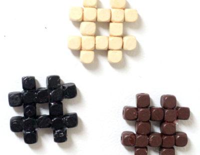 Hashtag Magnets Craft