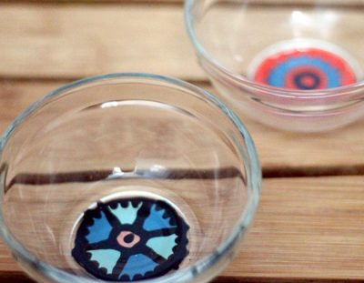 DIY Painted Glass Bowls