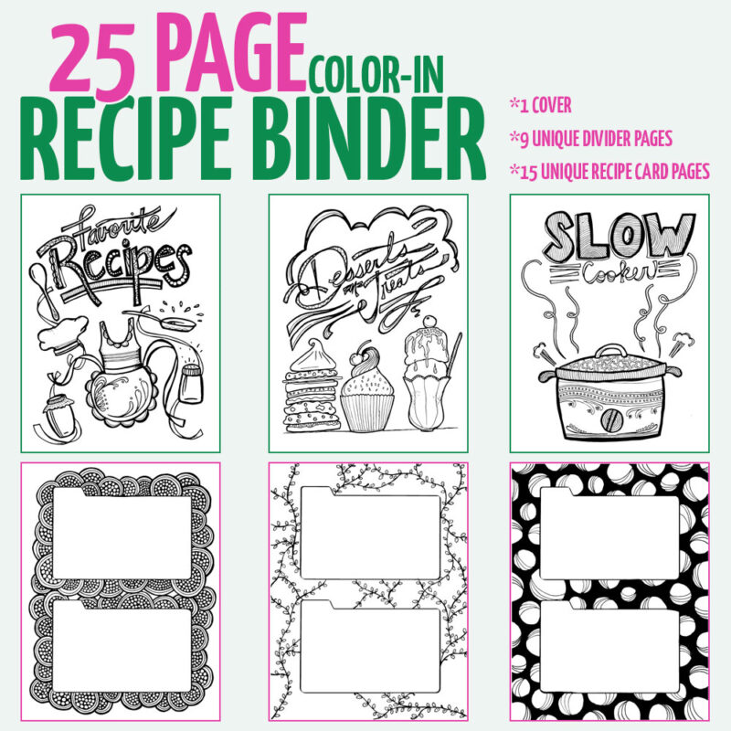 Free printable hanukkah coloring page for adults latkes for Hanukkah crafts for adults