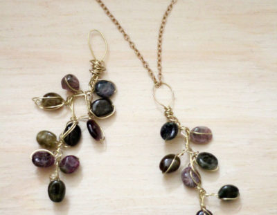 Branch Necklace – Wire Wrapped Jewelry Tutorial