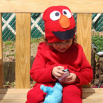 DIY Elmo Costume for Toddlers