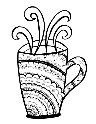 grab these 5 cool printable mandala coloring pages for adults floral petals rosette - Cool Coloring Pages For Adults