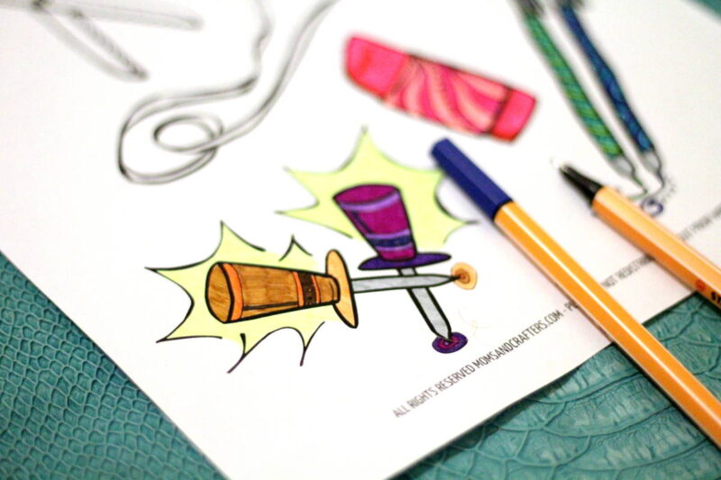 Some fun for back-to-school for teens and college students! Grab these free printable office supplies coloring pages for adults for some stationery store-inspired fun...