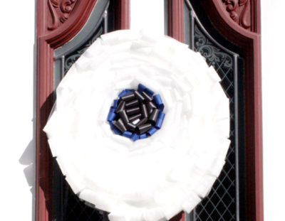 Monster Eyeball Ribbon Wreath
