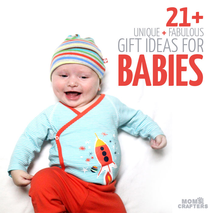 Looking for holiday gift ideas for babies? These baby gifts are perfect for infants also beyond the newborn stage, and great for Christmas and Hanukkah gift giving - or for gifts any time of the year! I hope you enjoy this list of gifts that mom and baby will truly appreciate.