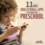 11 totally free educational apps for preschoolers - perfect for practicing the alphabet, wholesome screen time, shapes, numbers, colors, and more!