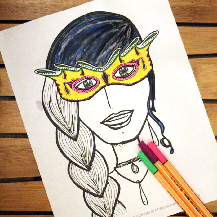 Grab This Free Printable Coloring Page For Adults Halloween Is Also Perfect