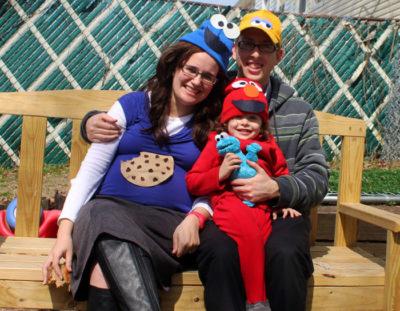 DIY Sesame Street Inspired Family Costume Idea