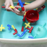 Pipes and Water Play for Toddlers